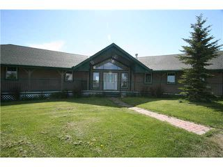 Photo 2: 262037 RGE RD 43 in COCHRANE: Rural Rocky View MD Residential Detached Single Family for sale : MLS®# C3573598