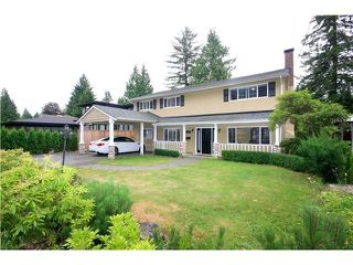 Photo 1: 1067 Belvedere Dr in : Canyon Heights NV House for sale (North Vancouver)  : MLS®# V1077196