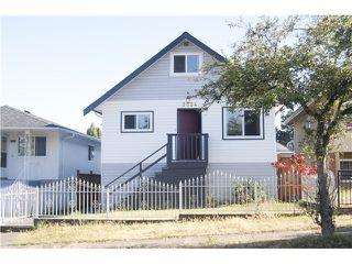 Main Photo: 3034 GRAVELEY ST in Vancouver: Renfrew VE House for sale (Vancouver East)  : MLS®# V1137068