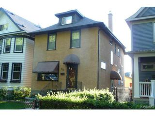 Photo 1: 634 Sherburn Street in WINNIPEG: West End / Wolseley Residential for sale (West Winnipeg)  : MLS®# 1319193