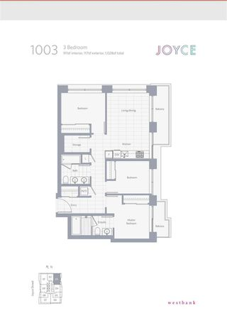 "Photo 2: 1003 5058 JOYCE Street in Vancouver: Collingwood VE Condo for sale in ""JOYCE"" (Vancouver East)  : MLS®# R2513272"