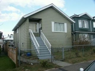 Photo 1: 2741 E GEORGIA ST in Vancouver: House for sale (Renfrew VE)  : MLS®# V579498