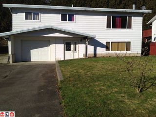 Photo 1: 45419 MCINTOSH Drive in Chilliwack: Chilliwack W Young-Well House for sale : MLS®# H1200460