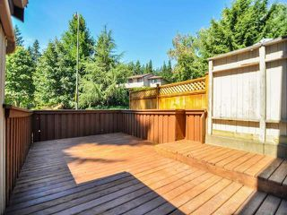"""Photo 15: 887 CUNNINGHAM Lane in Port Moody: North Shore Pt Moody Townhouse for sale in """"WOODSIDE VILLAGE"""" : MLS®# V1021537"""
