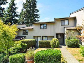 """Photo 1: 887 CUNNINGHAM Lane in Port Moody: North Shore Pt Moody Townhouse for sale in """"WOODSIDE VILLAGE"""" : MLS®# V1021537"""