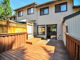 """Photo 16: 887 CUNNINGHAM Lane in Port Moody: North Shore Pt Moody Townhouse for sale in """"WOODSIDE VILLAGE"""" : MLS®# V1021537"""