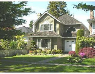 Photo 1: 2233 47TH Ave in Vancouver West: Home for sale : MLS®# V647954