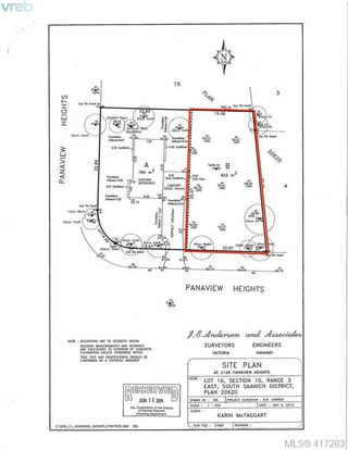 Photo 2: 2148 Panaview Hts in SAANICHTON: CS Keating Land for sale (Central Saanich)  : MLS®# 827831
