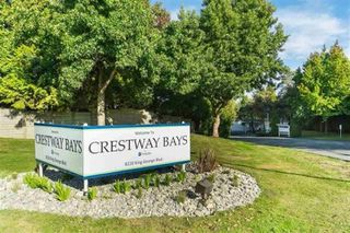 "Main Photo: 60 8220 KING GEORGE Boulevard in Surrey: Bear Creek Green Timbers Manufactured Home for sale in ""Crestway Bays"" : MLS®# R2509412"