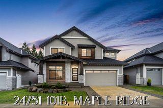 "Main Photo: 24751 101B Avenue in Maple Ridge: Albion House for sale in ""Jackson Ridge"" : MLS®# R2530429"