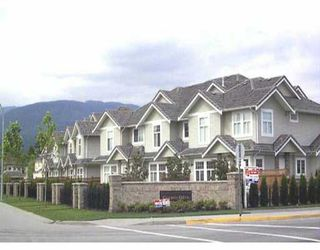 Photo 1: 7 1290 AMAZON DR in Port_Coquitlam: Riverwood Townhouse for sale (Port Coquitlam)  : MLS®# V409484