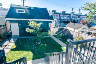 Photo 17: 3430 FRANKLIN STREET in Vancouver: Hastings East House for sale (Vancouver East)  : MLS®# R2115914
