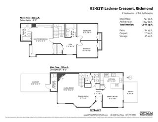 """Photo 20: 2 5311 LACKNER Crescent in Richmond: Lackner Townhouse for sale in """"KEY WEST"""" : MLS®# R2414118"""