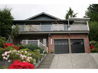 Main Photo: 2571 STEEPLE CT in Coquitlam: Upper Eagle Ridge House for sale : MLS®# V954021