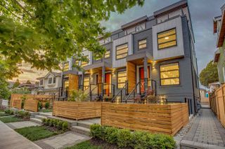 Photo 1: 2639 DUKE Street in Vancouver: Collingwood VE Townhouse for sale (Vancouver East)  : MLS®# R2428659