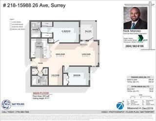 """Photo 22: 218 15988 26 Avenue in Surrey: Grandview Surrey Condo for sale in """"THE MORGAN"""" (South Surrey White Rock)  : MLS®# R2463278"""