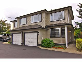 "Photo 1: # 6 9559 208TH ST in Langley: Walnut Grove Townhouse for sale in ""Derby Creek"" : MLS®# F1320113"
