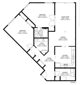 Photo 3: 306 10915 21 Avenue in Edmonton: Zone 16 Condo for sale : MLS®# E4201036