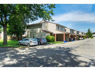 "Photo 1: 142 27456 32 Avenue in Langley: Aldergrove Langley Townhouse for sale in ""Cedar Park Estates"" : MLS®# R2479355"