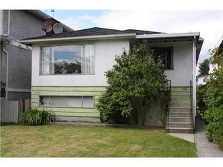 Photo 1: 4335 GEORGIA Street in Burnaby North: Willingdon Heights Home for sale ()  : MLS®# V837444