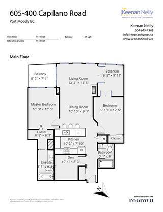 "Photo 32: 605 400 CAPILANO Road in Port Moody: Port Moody Centre Condo for sale in ""ARIA II"" : MLS®# R2490780"