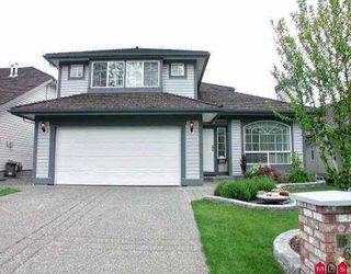 "Photo 1: 16767 84TH AV in Surrey: Fleetwood Tynehead House for sale in ""Cedar Grove"" : MLS®# F2510390"
