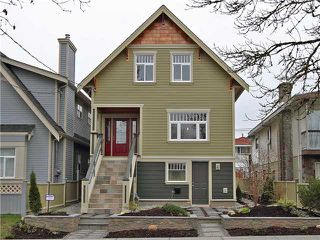 Photo 1: 4062 BEATRICE Street in Vancouver: Victoria VE House for sale (Vancouver East)  : MLS®# V941379
