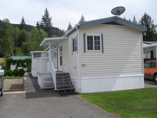 Photo 1: 53 4901 TCH EAST in KAMLOOPS: PRITCHARD Manufactured Home for sale : MLS®# 123372