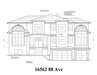 Photo 1: 16562 88 Avenue in Surrey: Fleetwood Tynehead Land for sale : MLS®# R2402972