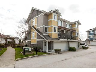 "Photo 1: 15 6036 164 Street in Surrey: Cloverdale BC Townhouse for sale in ""Arbour Village"" (Cloverdale)  : MLS®# R2445991"