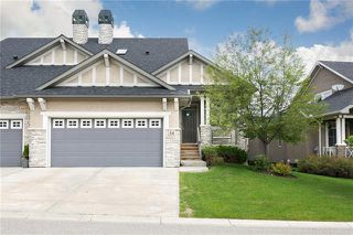 Main Photo: 14 EVERCREEK BLUFFS View SW in Calgary: Evergreen Semi Detached for sale : MLS®# A1034292
