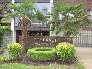 """Photo 2: 403 1140 PENDRELL Street in Vancouver: West End VW Condo for sale in """"SOMERSET"""" (Vancouver West)  : MLS®# V931325"""