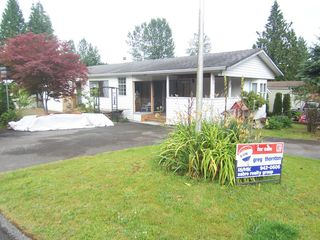 """Photo 1: 69 10221 WILSON Avenue in Mission: Stave Falls Manufactured Home for sale in """"Triple Creek Estates"""" : MLS®# F1315634"""
