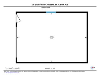 Photo 44: 38 Brunswick Crescent: St. Albert House for sale : MLS®# E4203904