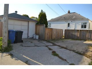 Photo 16: 283 Union Avenue West in WINNIPEG: East Kildonan Residential for sale (North East Winnipeg)  : MLS®# 1320776