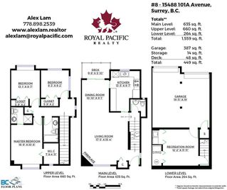 Photo 24: 8 15488 101A Ave Surrey Townhouse for sale, 3 bed 2.5 Bath
