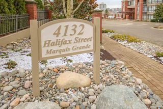 "Photo 1: 403 4132 HALIFAX Street in Burnaby: Brentwood Park Condo for sale in ""MARQUIS GRANDE"" (Burnaby North)  : MLS®# R2388270"