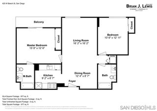 Photo 21: DOWNTOWN Condo for sale : 2 bedrooms : 425 W Beech #527 in San Diego