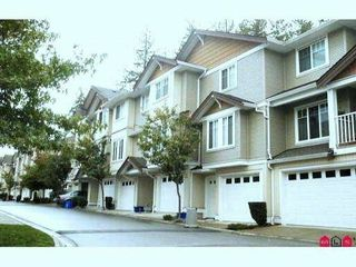 "Photo 1: 97 12711 64TH Avenue in Surrey: West Newton Townhouse for sale in ""PALETTE ON THE PARK"" : MLS®# F1213722"