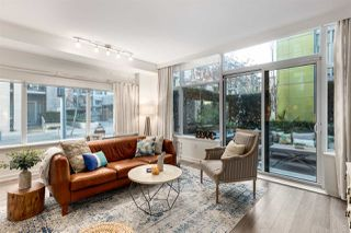 """Photo 3: 107 181 W 1ST Avenue in Vancouver: False Creek Condo for sale in """"BROOK"""" (Vancouver West)  : MLS®# R2422787"""