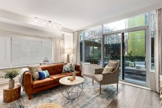 """Photo 4: 107 181 W 1ST Avenue in Vancouver: False Creek Condo for sale in """"BROOK"""" (Vancouver West)  : MLS®# R2422787"""