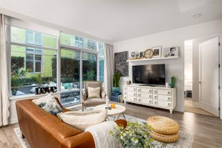 """Photo 7: 107 181 W 1ST Avenue in Vancouver: False Creek Condo for sale in """"BROOK"""" (Vancouver West)  : MLS®# R2422787"""