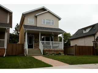 Photo 1: 134 Harrowby Avenue in WINNIPEG: St Vital Residential for sale (South East Winnipeg)  : MLS®# 1420908
