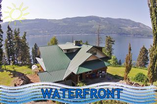 Main Photo: 6525 Sunnybrae Canoe Point Road in Tappen: Tappen/Sunnybrae House with Acreage for sale (Shuswap)  : MLS®# 10099809
