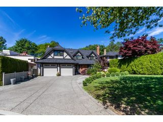 Photo 1: 7923 MEADOWOOD DRIVE in Burnaby: Forest Hills BN House for sale (Burnaby North)  : MLS®# R2070566