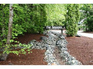 "Photo 1: # 9 2561 TRICOUNI PL: Whistler Townhouse for sale in ""THE SEASONS"" : MLS®# V955508"
