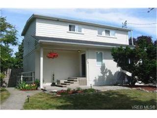 Photo 1: 840 Reed St in VICTORIA: Vi Mayfair Half Duplex for sale (Victoria)  : MLS®# 439261