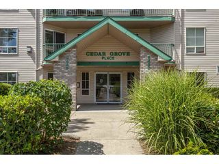 "Photo 1: 407 2435 CENTER Street in Abbotsford: Abbotsford West Condo for sale in ""Cedar Grove Place"" : MLS®# R2391275"