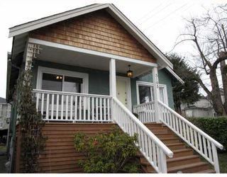 Photo 1: 5105 RUBY Street in Vancouver: Collingwood VE House for sale (Vancouver East)  : MLS®# V756766