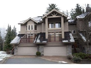 "Photo 1: # 37 8030 N NICKLAUS BV: Whistler Townhouse for sale in ""ENGLEWOOD GREEN"" : MLS®# V977893"